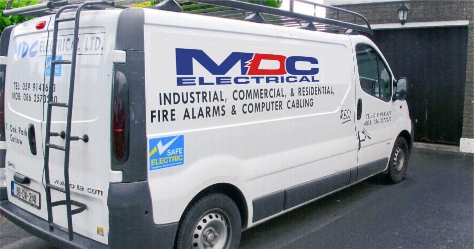 MDC Electrical for Industrial, Commercial, Residential Fire Alarms & Computer Cabling, Carlow, Ireland